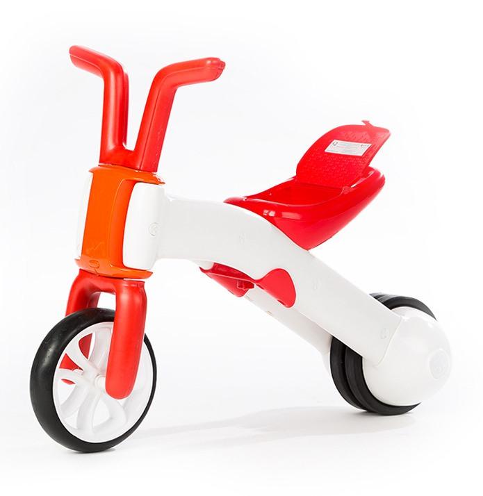 Tricicleta Bunzi Rosu 2 in 1
