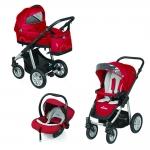 Carucior Baby Design Lupo Comfort 3 in 1 Rosu
