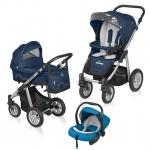Carucior Baby Design Lupo Comfort 3 in 1 Bleumarim