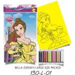 Plansa pictura nisip L Belle cu Trandafir Imp