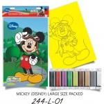 Plansa pictura nisip L Micky cu Ochelari