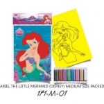 Plansa pictura nisip M Ariel Sirena