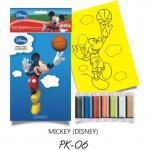 Plansa pictura nisip S Micky   Disney