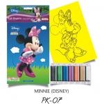 Plansa pictura nisip S Minny  Disney