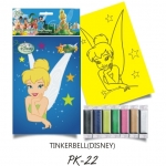 Plansa pictura nisip S Tinkerbell
