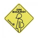 Semn Gravida la bord Safety 1st
