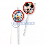 Set 6 paie cu medalion MICKEY PLAYFUL