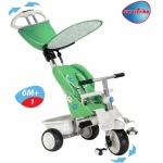 Tricicleta Smart Trike Recliner Stroller 4 in 1 Verde