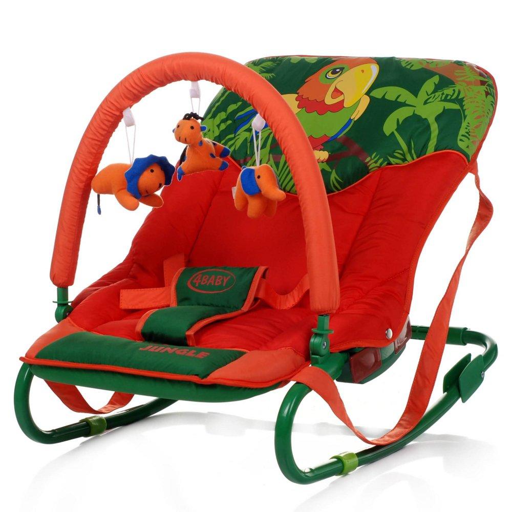 Balansoar copii 4Baby Jungle Parrot