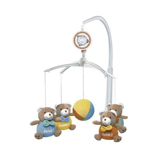 Carusel muzical Baby Bears din categoria Camera copilului de la BABY MIX