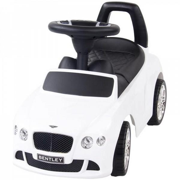 Masinuta fara pedale Bentley Alb
