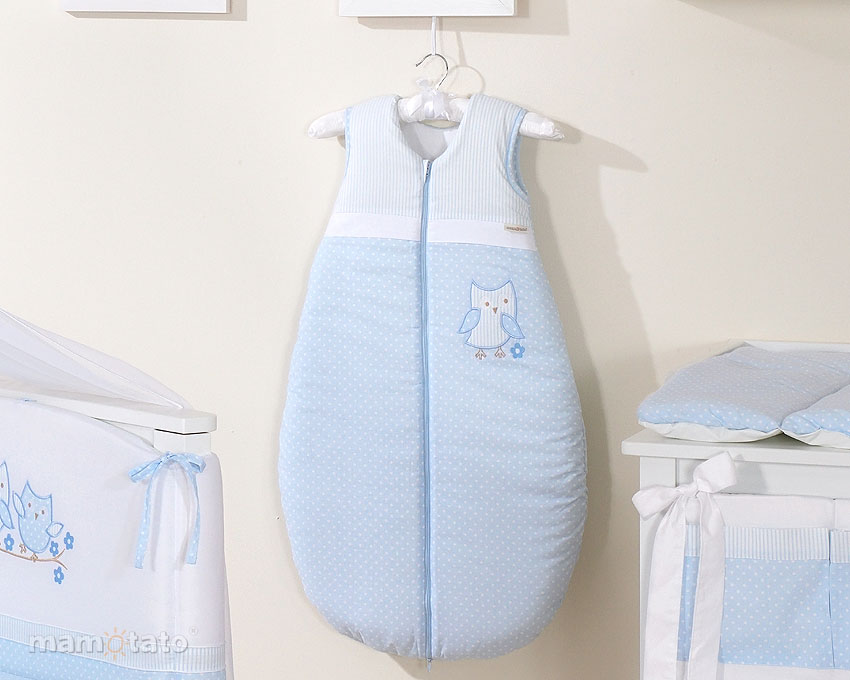 Sac De Dormit Cute Bird Blue 84 Cm
