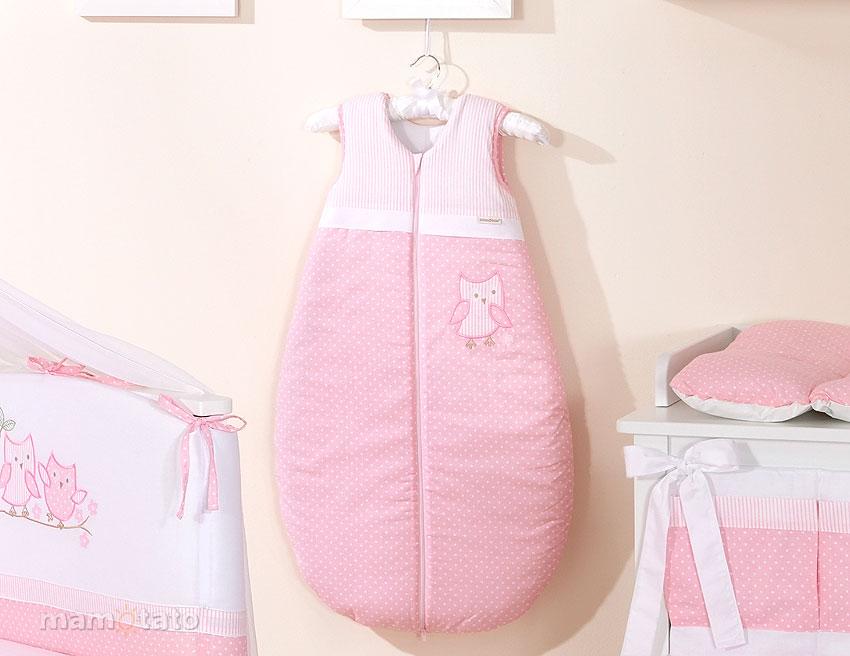 Sac De Dormit Cute Bird Pink 84 Cm
