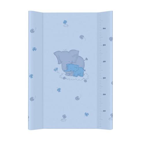 Saltea de infasat cu intaritura Elefantul Albastru 70x50 cm