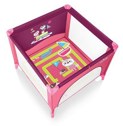 Tarc de joaca Baby Design Joy Pink
