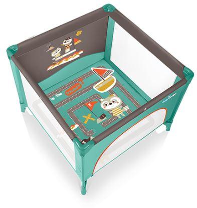 Tarc de joaca Baby Design Joy Turqouise