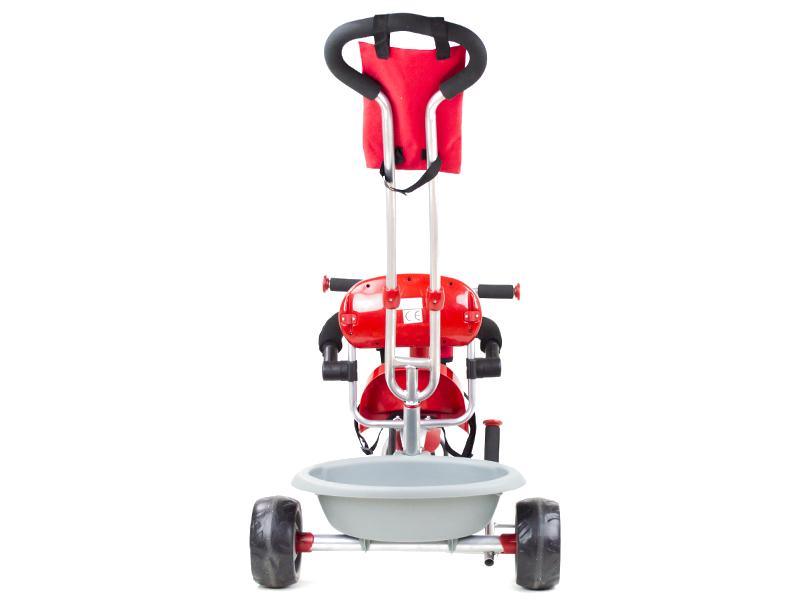 Tricicleta pentru copii Rider A908-1 rosu
