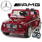 Masinuta electrica Mercedes G55 AMG SUV cu telecomanda Red