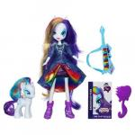 My Little Pony Set Equestria Girls Rarity Doll cu Ponei
