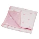 Paturica Hippychick  Pink Hearts-100x75 cm