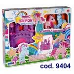 Set joaca Castel cu ponei