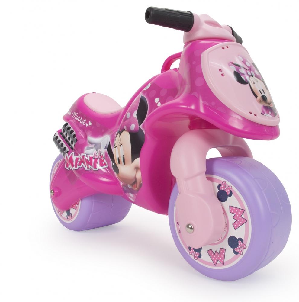 Bicicleta fara pedale Injusa Neox Minnie Mouse