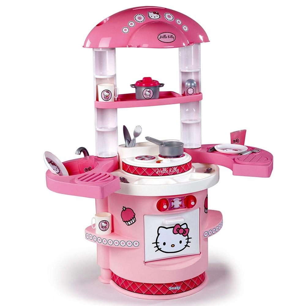 Bucatarie Hello Kitty cu 20 accesorii