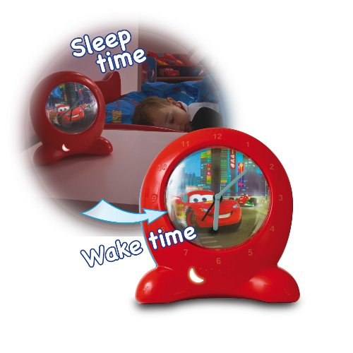 Ceas Go Glow Time Disney Cars