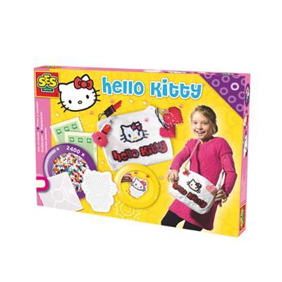 Iron On Beads Hello Kitty