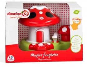 Jucarie muzicala bebe Proiector Ciupercuta cu melodii Vitamina G
