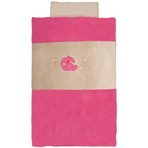 Lenjerie pentru patut Lapidou Pink