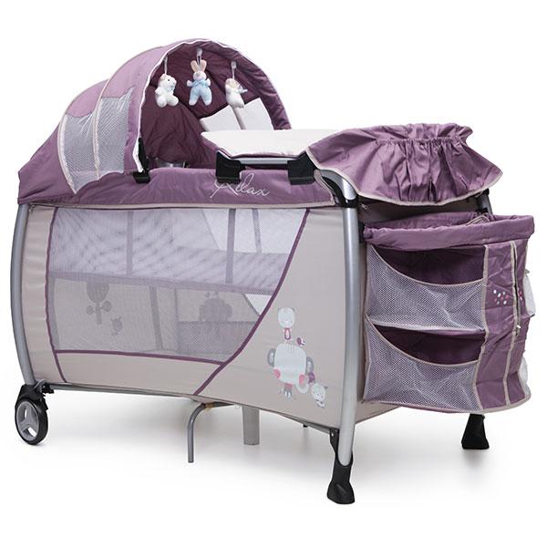 Patut pliabil Cangaroo Relax Purple