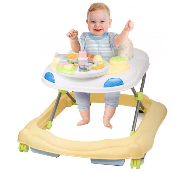 Premergator Copii Si Bebe Jucarie Rotativa Weina 4001 303 54 Galben