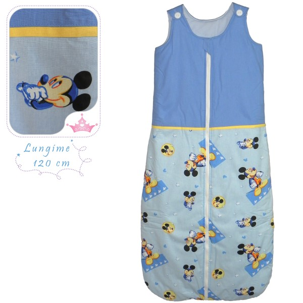 Sac de dormit toamna-iarna Mickey - 120 cm