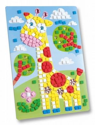 Set creativitate Mozaic din burete Girafa 405 piese