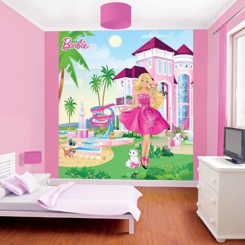 Tapet pentru Copii Barbie My Pink Palace