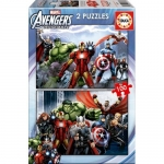 Puzzle Avangers 2x100 piese