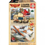 Puzzle Planes 2 x 50