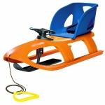 Sanie Bullet control seat portocalie