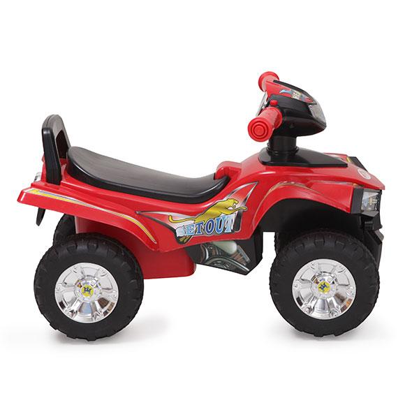 ATV fara pedale Moni RideGo Rosu