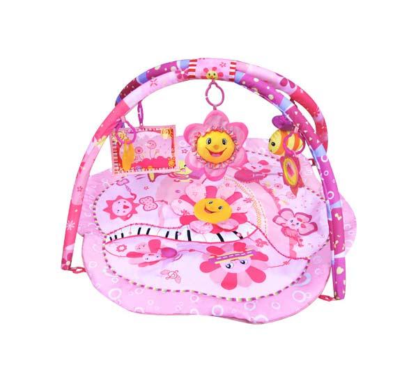 Centru de joaca cu sunete Cangaroo Pink Flower Musical Party
