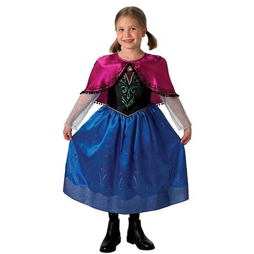 Costum de carnaval - ANNA DELUXE din Frozen ( Regatul de Gheata)