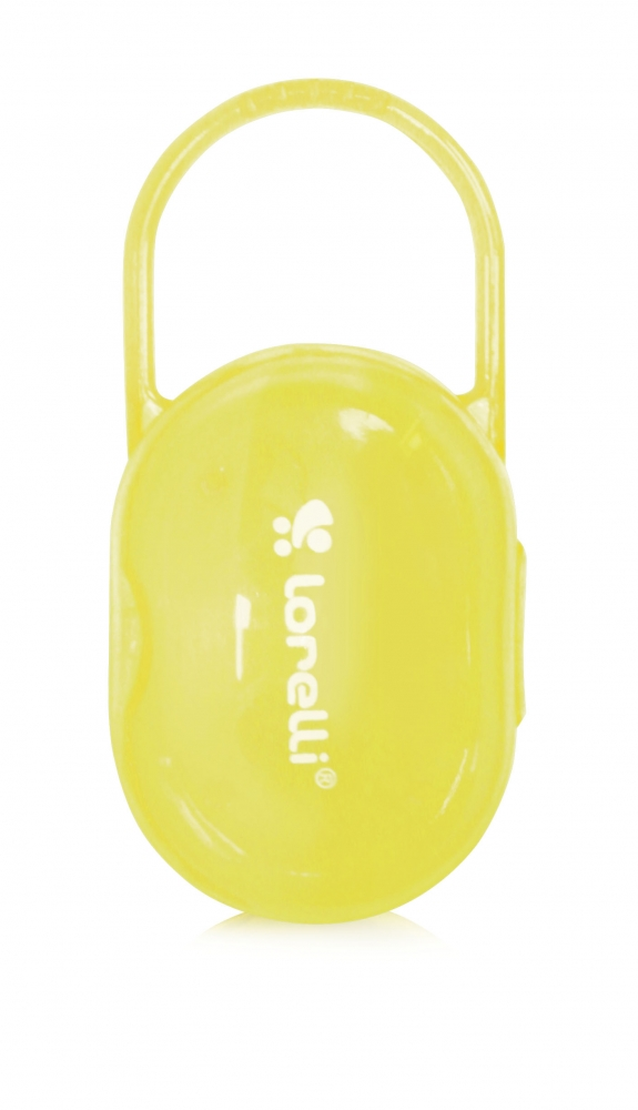 Suport Transparent Suzete Si Tetine Yellow