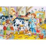 Puzzle 60 piese Veterinar la ferma 6748