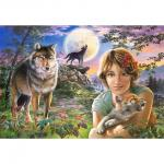 Puzzle Castorland 1000 piese In the Full Moon Light 102785