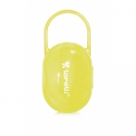 Suport transparent suzete si tetine Yellow