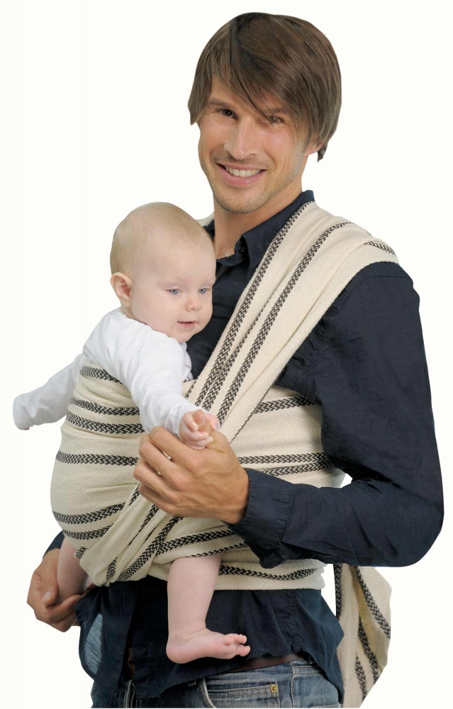 Baby carrying sling cappucino 510cm