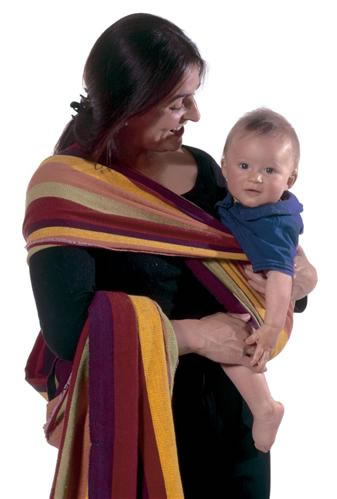 Baby carrying sling tropical 450 cm