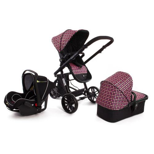 Carucior 3 in 1 Trend Purple Kinderkraft