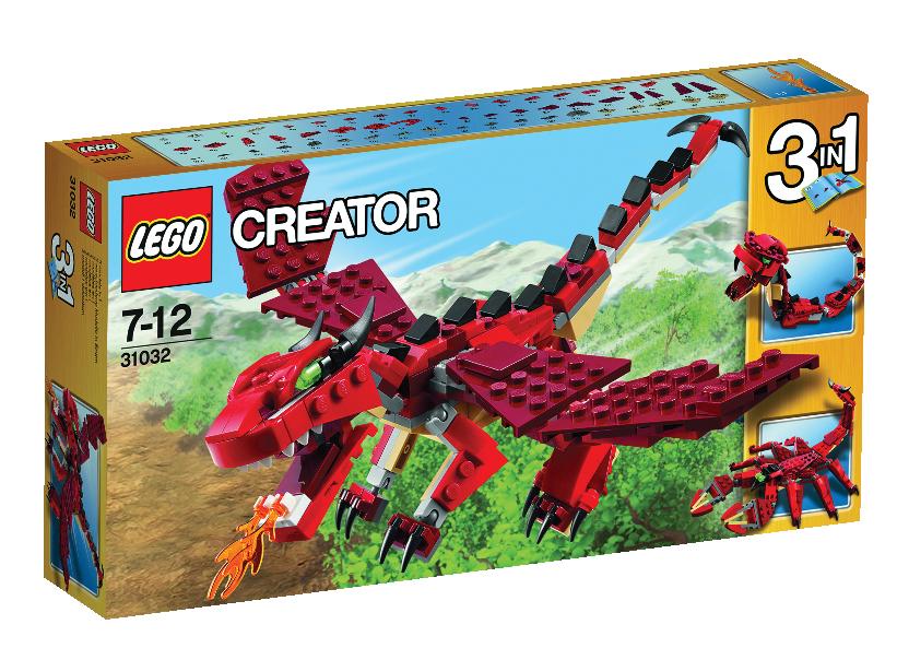 Creaturi Rosii (31032)